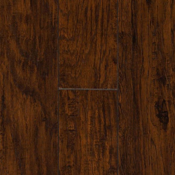 12mm Commonwealth Rustic Hickory 24 Hour Water-Resistant Laminate Flooring