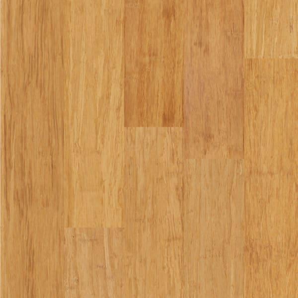 Strand Natural Wide Plank Engineered Bamboo Flooring
