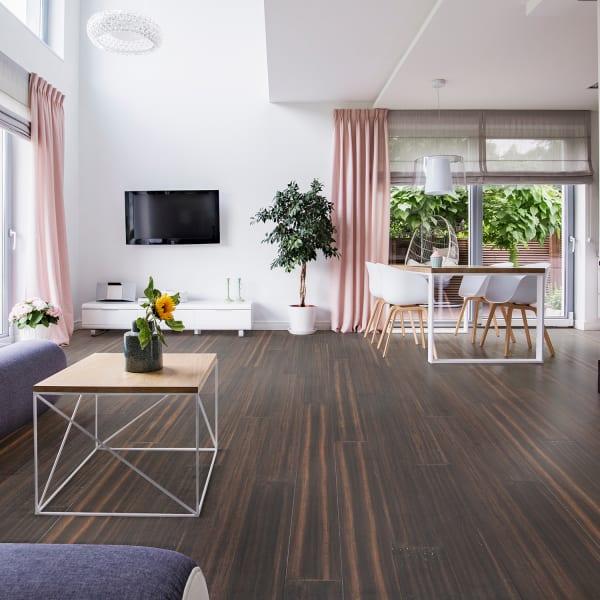 Portland Strand Extra Wide Plank Engineered Click Bamboo Flooring
