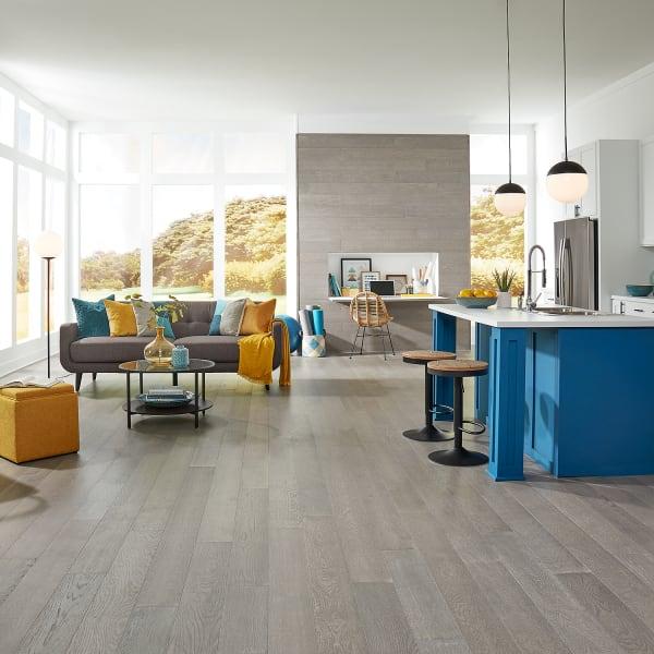 3/8 in. x 6-3/8 in. Wind River Oak Distressed Engineered Hardwood Flooring
