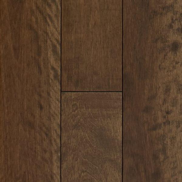 3/4 in. x 5.25 in. Newmarket Distressed Solid Hardwood Flooring