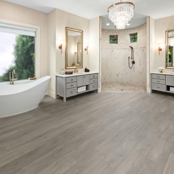 Coreluxe 4mm W Pad Geneva Oak, Is Vinyl Plank Flooring Good In Bathrooms