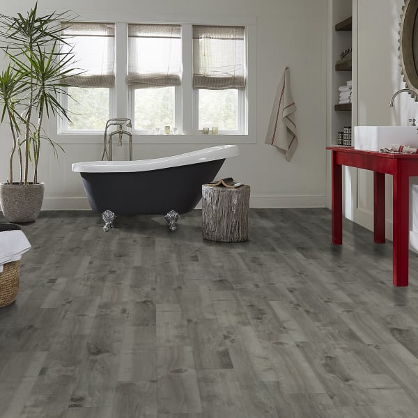 12mm Boylan Gray 72 Hour Water-Resistant Laminate Flooring