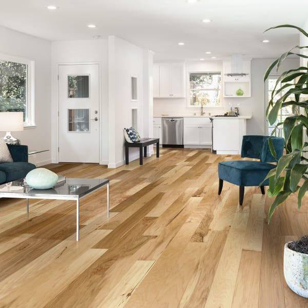 3/8 in. x 4.75 in. Kennecott Hickory Quick Click Engineered Hardwood Flooring