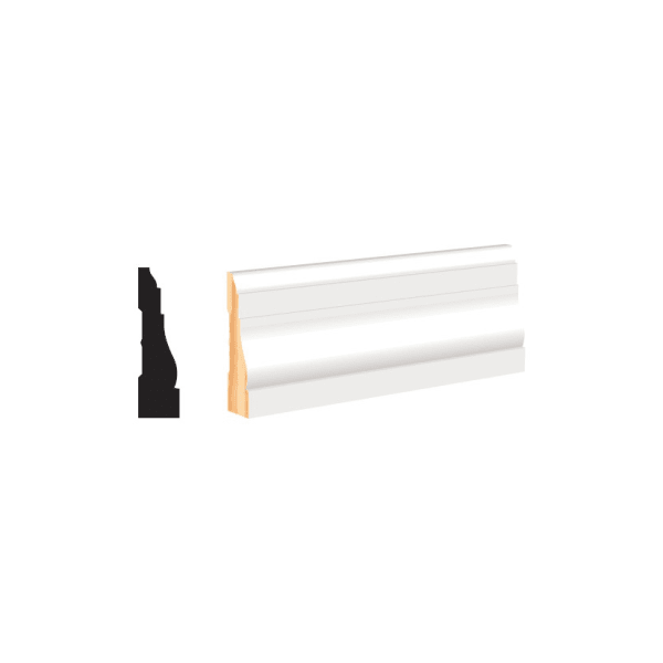 """White Molding and Trim - Casing 2-1/2"""""""