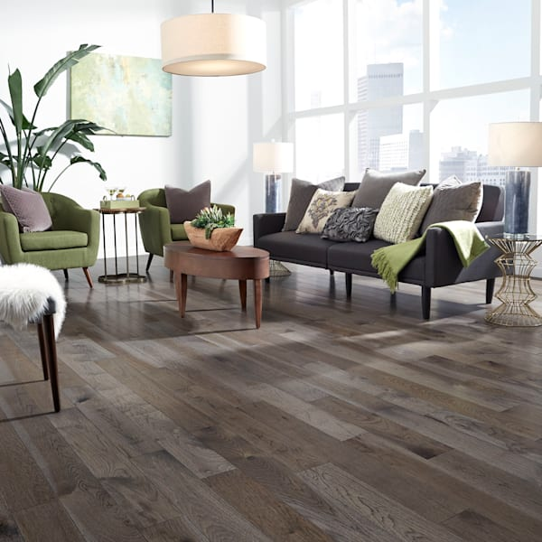3/4 in. x 5 in. Winter Solstice Hickory Solid Hardwood Flooring