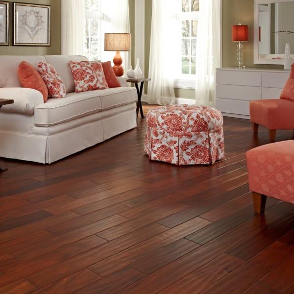 7/16 in. x 4.75 in. Golden Acacia Easy Click Engineered Hardwood Flooring